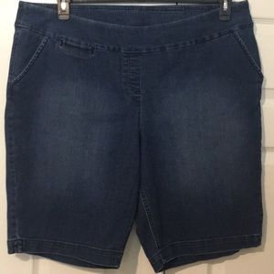 24w Westbound pull up jean shorts